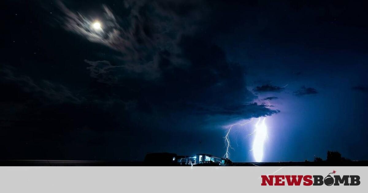 Κακοκαιρία: Η «ψυχρή λίμνη» έφερε 5.000 κεραυνούς και βροχές – Πού θα «χτυπήσει» τη Δευτέρα – Newsbomb – Ειδησεις