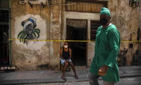 Κούβα: «Υψηλός ο δείκτης επίπτωσης» της πανδημίας - Αυξάνονται οι μολύνσεις μεταξύ των νέων