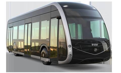 Ηλεκτρικό λεωφορείο στη γραμμή 2 Παγκράτι-Κυψέλη - Δοκιμαστική διαδρομή παρουσία Καραμανλή