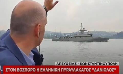 Βίντεο: Ελληνική πυραυλάκατος περνάει τα στενά του Βοσπόρου – Συμμετείχε σε άσκηση του ΝΑΤO