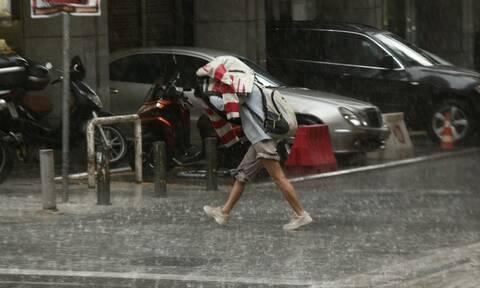 Καιρός Βροχή καταιγίδα