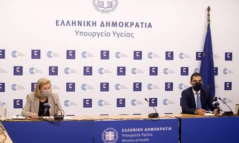 LIVE: Παρακολουθήστε την ενημέρωση για το σχέδιο των εμβολιασμών στην Ελλάδα