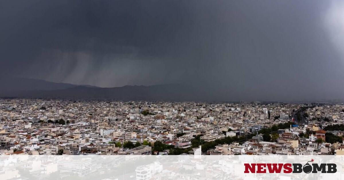 Κακοκαιρία: Η «ψυχρή λίμνη» έφερε ισχυρές καταιγίδες – Πού θα «χτυπήσει» την Τρίτη – Newsbomb – Ειδησεις