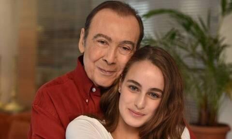 Τόλης Βοσκόπουλος: Το «αντίο» της κόρης του με τρεις λέξεις