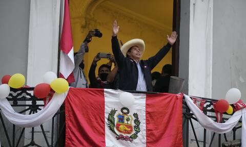 Περού: Ο σοσιαλιστής Πέδρο Καστίγιο νικητής των προεδρικών εκλογών