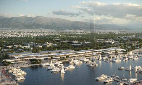 Lamda Development: Παρουσίασε το παράκτιο μέτωπο του Ελληνικού και την εντυπωσιακή Marina Galleria