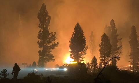 HΠΑ: Πύρινη Κόλαση με 80 μέτωπα σε 13 πολιτείες- Στο Όρεγκον κάηκε έκταση σαν το Λος Άντζελες