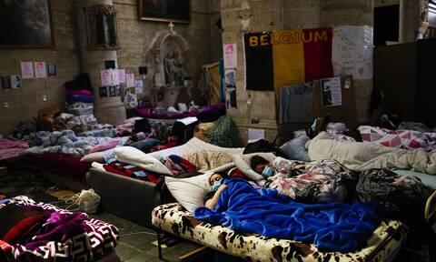 Bέλγιο: Πολιτική θύελλα από την μαζική απεργίας πείνας μεταναστών στις Βρυξέλλες
