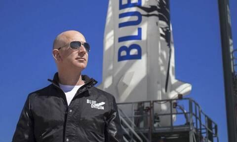 Τζεφ Μπέζος - Δείτε live:  H εκτόξευση για το ταξίδι στο διάστημα