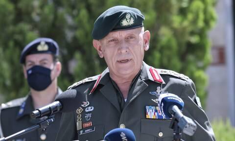 Μήνυμα του Αρχηγού ΓΕΕΘΑ από την Κύπρο: Η ιστορία δεν θα ξεχαστεί ποτέ