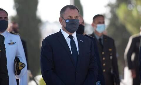Ηχηρό μήνυμα Παναγιωτόπουλου από την Κύπρο: Η Ελλάδα δίπλα στη Μεγαλόνησο, έναντι σε κάθε απειλή