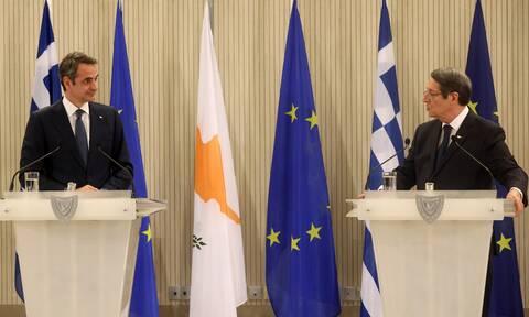 Κυπριακό: Τηλεφωνική επικοινωνία Μητσοτάκη – Αναστασιάδη για την τουρκική προκλητικότητα