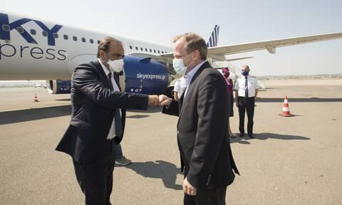 Η SKY express τιμά τη Θεσσαλονίκη δίνοντας το όνομά της σε ένα από τα νέα Airbus A320neo