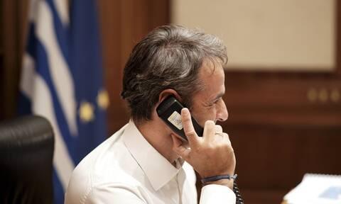 Τηλεφωνική επικοινωνία Μητσοτάκη με τον Ιρακινό ομόλογό του - Τι συζήτησαν