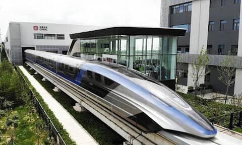Κίνα: Ετοιμάζει τρένο που θα φτάνει τα 600 χιλιόμετρα την ώρα (video)