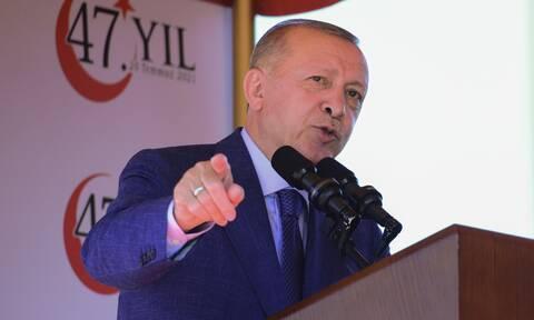 Ερντογάν Κύπρος Τουρκία Γερμανικά ΜΜΕ