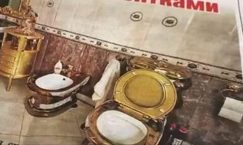 Ρωσία: Χρυσή τουαλέτα βρέθηκε στο πλαίσιο έρευνας για διεφθαρμένους αστυνομικούς