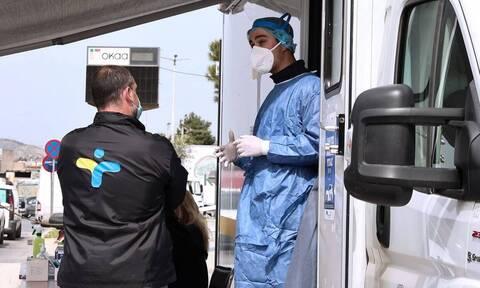 ΕΟΔΥ: Σε ποια σημεία θα γίνονται δωρεάν rapid tests την Πέμπτη