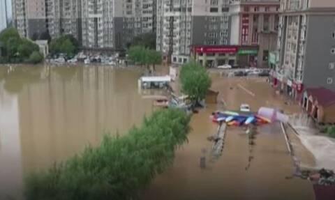 Κϊνα πλημμύρες