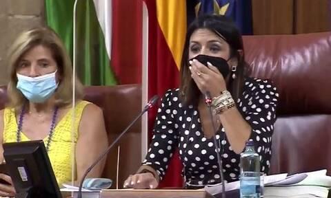 Ισπανία: Αναστάτωση στη βουλή της Ανδαλουσίας από... απρόσκλητο επισκέπτη! (vid)