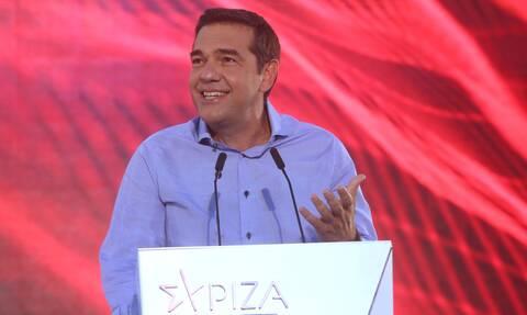 Alexis Tsipras visits Mykonos