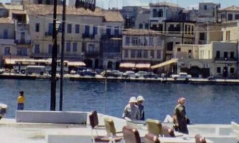 Νοσταλγία: Πλάνα από το μακρινό 1978 στο παλιό λιμάνι Χανίων! (vid)