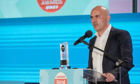 O Iάκωβος Ανδρεανίδης, Πρόεδρος Διοίκησης της Lidl Ελλάς, Retail Manager of the Year