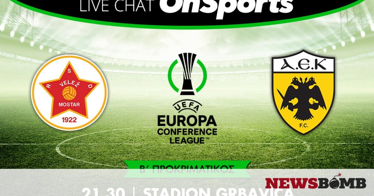 facebookVelez Mostar AEK live