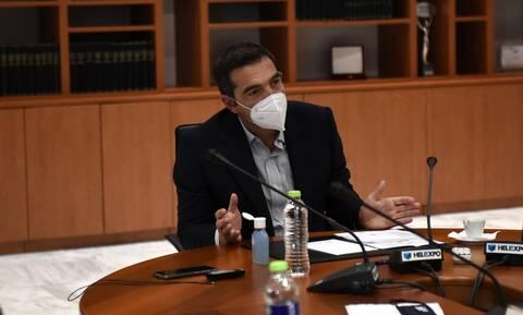 Τσίπρας: Καλώ τον κ. Μητσοτάκη να σταματήσει τον τεμαχισμό των αρχαίων στο μέτρο Θεσσαλονίκης