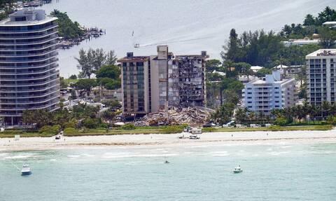 Κατάρρευση πολυκατοικίας στη Φλόριντα: Ολοκληρώθηκε η επιχείρηση για την ανάσυρση των πτωμάτων