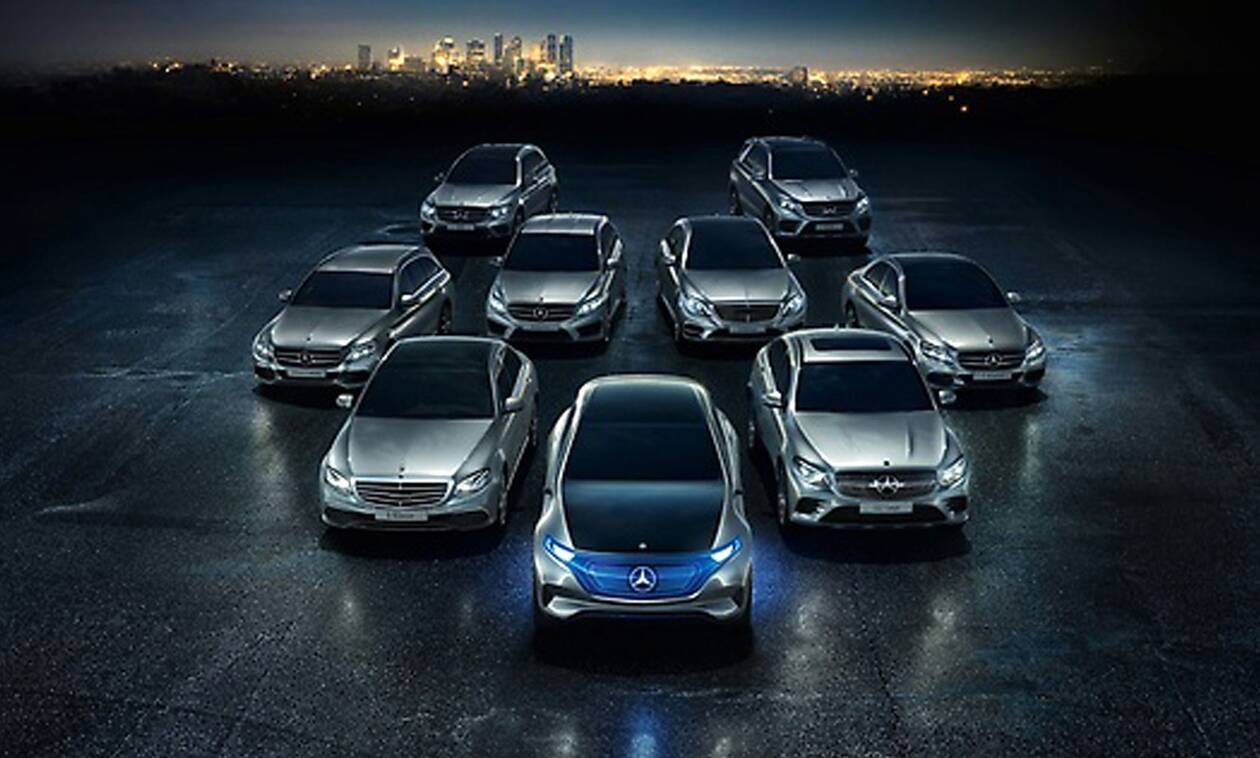 H Daimler θα επενδύσει 40 δισ. ευρώ για την ηλεκτροκίνηση μέχρι το 2030