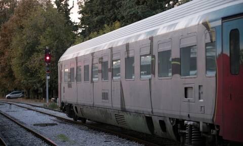 Παράσυρση πεζού από τρένο στη Θεσσαλονίκη
