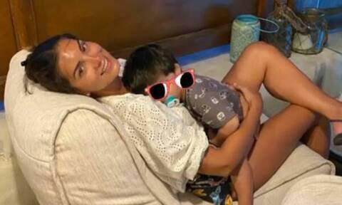 Σταματίνα Τσιμτσιλή: Δείτε πόσο άλλαξε ο γιος της