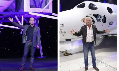 Δεν θεωρούνται αστροναύτες: Πώς οι ΗΠΑ «κόβουν τα φτερά» των Μπέζος και Μπράνσον