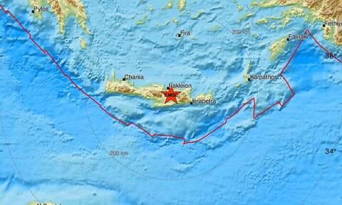 Σεισμός κοντά στο Ηράκλειο Κρήτης (pics)