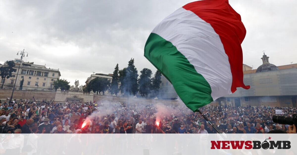 facebookItaly Protest