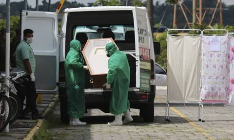 Κορονοϊός στη Βραζιλία: 1.108 θάνατοι και 38.091 κρούσματα σε 24 ώρες