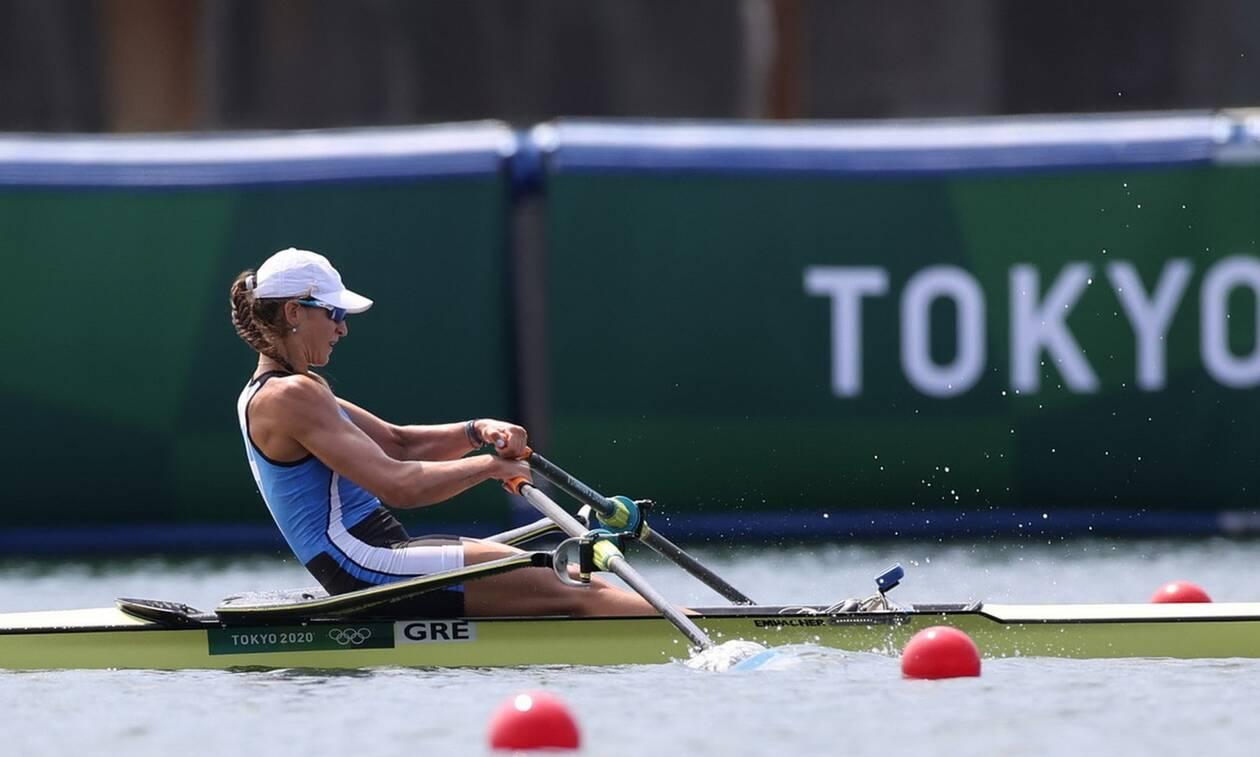 Ολυμπιακοί Αγώνες 2020 - Κωπηλασία: Στα ημιτελικά του απλού σκιφ γυναικών η Αννέτα Κυρίδου