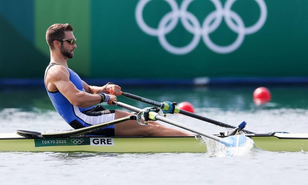 Ολυμπιακοί Αγώνες 2020 - Κωπηλασία: Στα ημιτελικά του απλού σκιφ ανδρών ο Στέφανος Ντούσκος