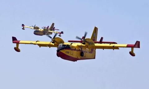 Δύο Canadair CL-415 στέλνει η Ελλάδα στην Ιταλία για τις καταστροφικές πυρκαγιές στη Σαρδηνία