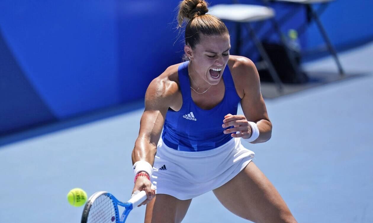 Ολυμπιακοί Αγώνες 2020 - Τένις: Ανετη πρόκριση στις «16» για τη Μαρία Σάκκαρη
