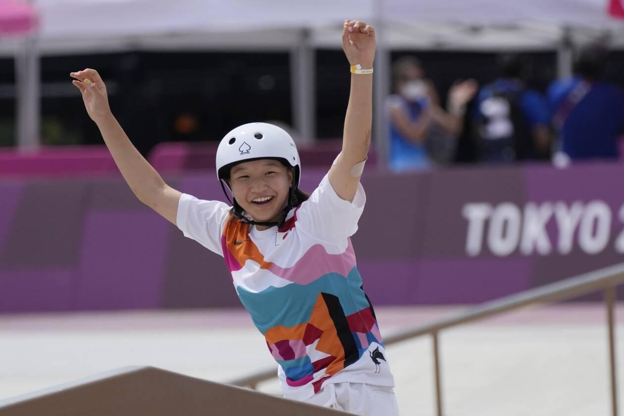 Ολυμπιακοί Αγώνες 2020: Χρυσή Ολυμπιονίκης ετών...13 - Το «κορίτσι θαύμα» του σκέιτμπορντ