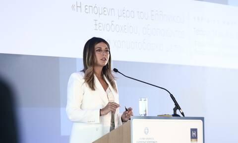 Τουρισμός - Ζαχαράκη: Είμαστε στο 60% των αφίξεων του 2019 μέχρι τώρα