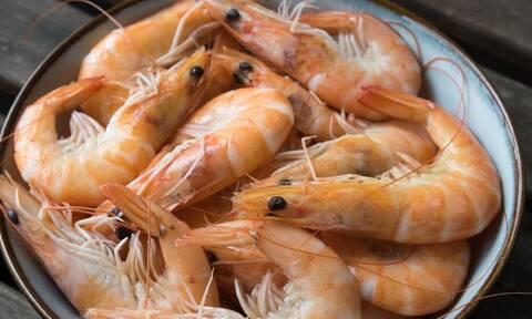 ΕΦΕΤ: Προσοχή - Μην καταναλώσετε αυτές τις κατεψυγμένες γαρίδες