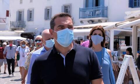 Tsipras accuses gov't of promoting harsh political agenda