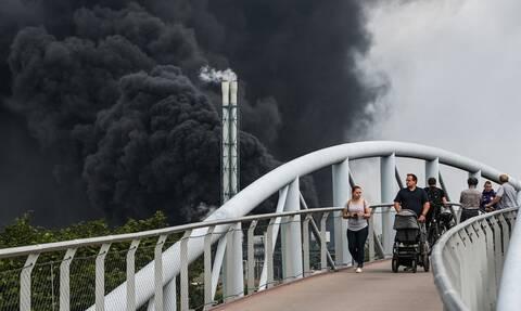 Βίντεo: Η έκρηξη που συγκλόνισε το Λεβερκούζεν