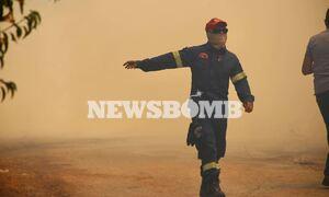 LIVE BLOG - Φωτιά ΤΩΡΑ στη Σταμάτα: Δραματικές στιγμές, κάηκαν σπίτια - Εκκενώθηκε οικισμός