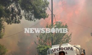 Φωτιά ΤΩΡΑ στη Σταμάτα: Μήνυμα 112 σε Εκάλη, Διόνυσο, Δροσιά - «Κλείστε παράθυρα, πόρτες»