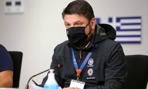 Φωτιά ΤΩΡΑ - Χαρδαλιάς - Χρυσοχοΐδης: Σε ύφεση η πυρκαγιά στη Σταμάτα - Παραμένουμε σε επιφυλακή