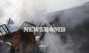Φωτιά στη Σταμάτα: Εικόνες και βίντεο από τον εφιάλτη της πύρινης λαίλαπας